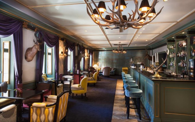Restaurant van hotel Grand Palace stedentrip Riga