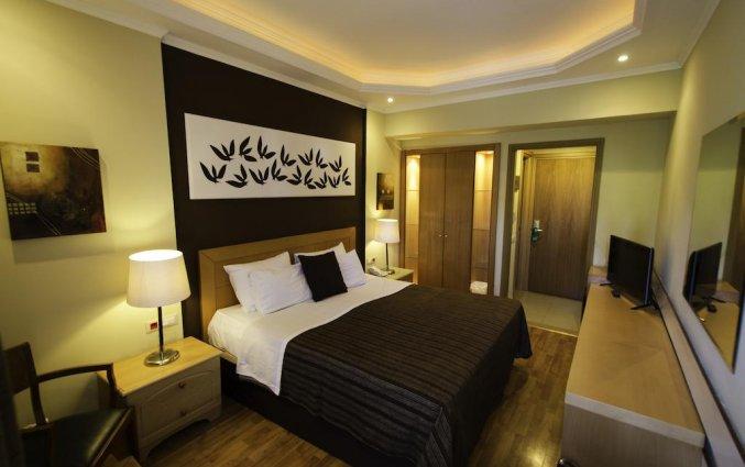 Tweepersoonskamer van Hotel Lydia op Rhodos