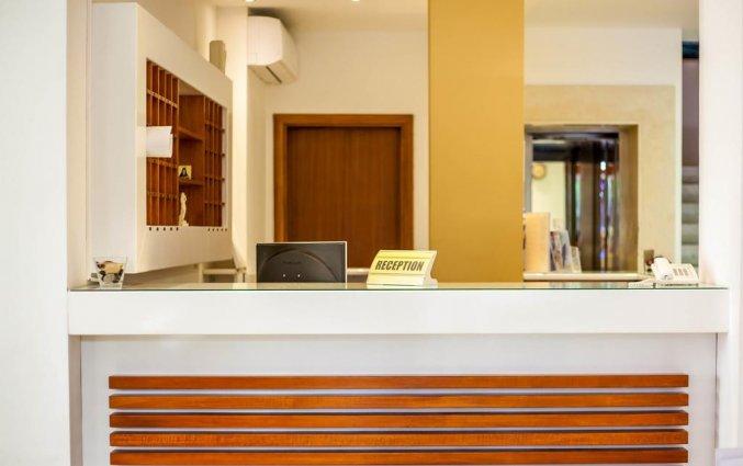 Receptie van Hotel Filmar in Rhodos