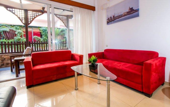 Lobby van Hotel Filmar in Rhodos