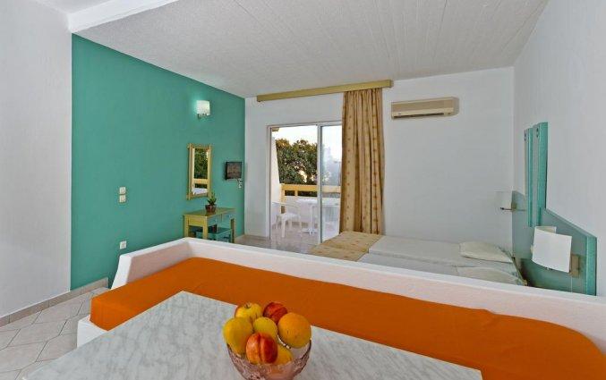 Tweepersoonskamer van Hotel Apartments Trianta Rhodos