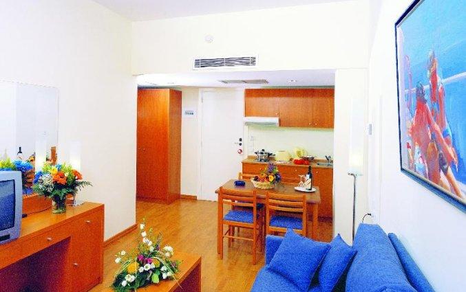 Appartement met zithoek