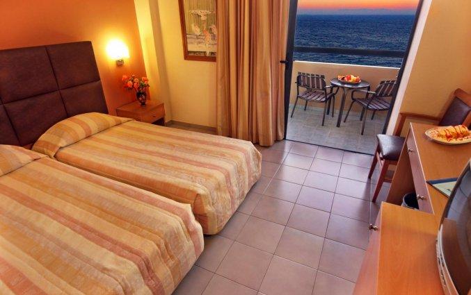 Tweepersoonskamer van Hotel Kipriotis Adults Only op Rhodos