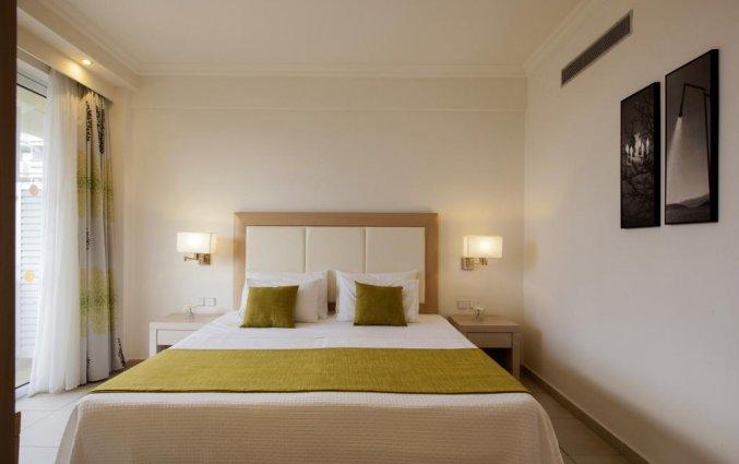 Tweepersoonsslaapkamer in hotel Electra Palace Rhodos