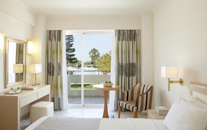 Slaapkamer in hotel Electra Palace Rhodos