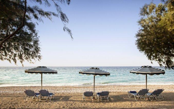 Strand van hotel Electra Palace Rhodos