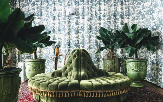 Lounge van hotel Grand Ferdinand in Wenen