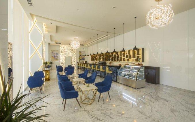 Bakkerij met eetgedeelte van hotel Gevora in Dubai