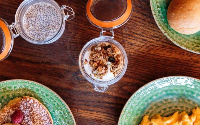Ontbijt van Hostel & Suites The house of Sandeman stedentrip Porto