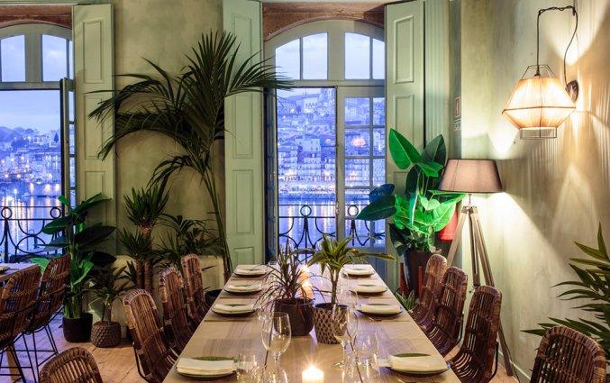 Restaurant the George House of Sandeman stedentrip Porto