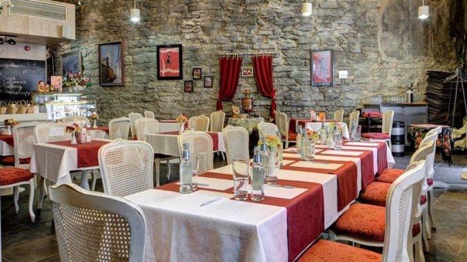 Restaurant van Hotel Rija Old Town in Tallinn