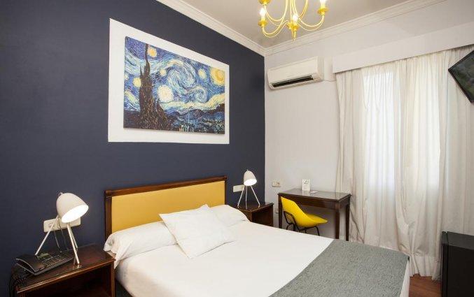Budgetkamer van hotel Casual Valencia de las Artes stedentrip Valencia