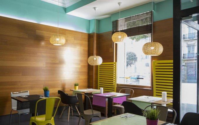 Restaurant van hotel Casual Valencia de las Artes stedentrip Valencia