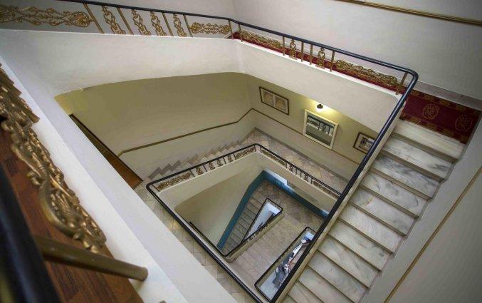 Trappenhuis van hotel Casual Valencia de las Artes stedentrip Valencia