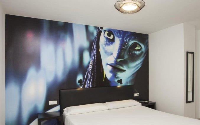 Kamer met Avatar aspecten hotel Casual Valencia del Cine stedentrip Valencia