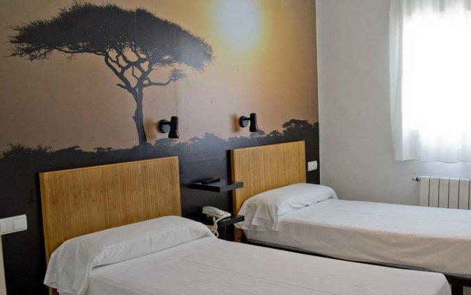Twin kamer van hotel Casual Valencia del Cine stedentrip Valencia