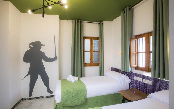 Twin kamer hotel Casual Sevilla Don Juab Tenorio stedentrip Sevilla