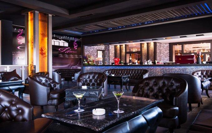 Lounge van Hotel Aqua Fun Club Marrakech in Marrakech