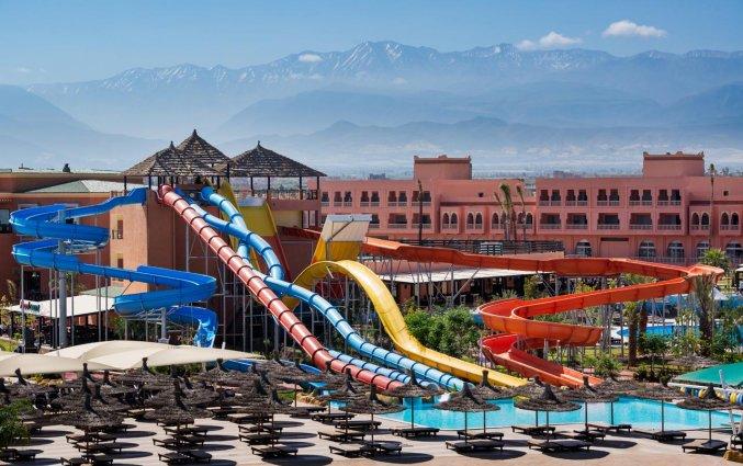 Aquapark van Hotel Aqua Fun Club Marrakech in Marrakech