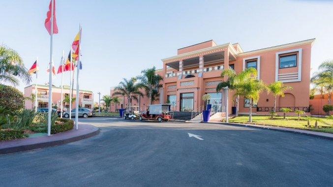 Ingang van Hotel Aqua Fun Club Marrakech in Marrakech