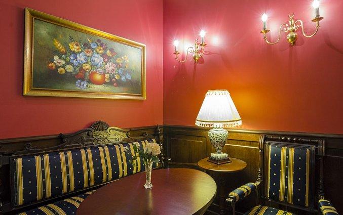 Lounge van Hotel Gutenberg in Riga