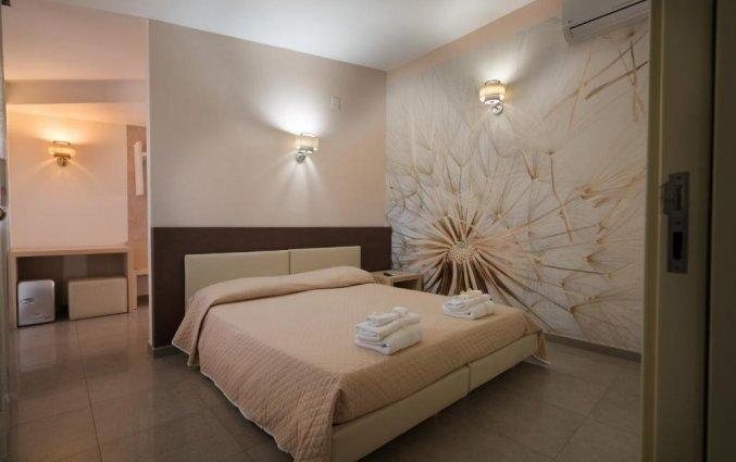 Tweepersoonskamer met tweepersoonsbed van Bed & Breakfast Nacorè in Puglia
