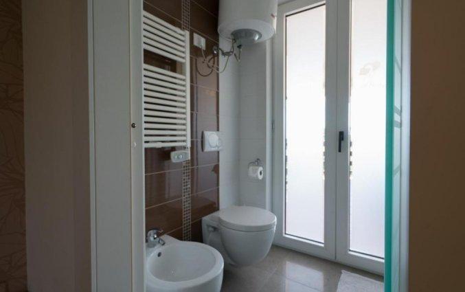 Badkamer van tweepersoonskamer van Bed & Breakfast Nacorè in Puglia