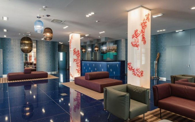 Lobby van Resort Spa Cala Ponte in Puglia