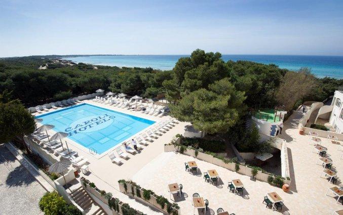 Zwembad in Ecoresort Le Sirene in Gallipoli