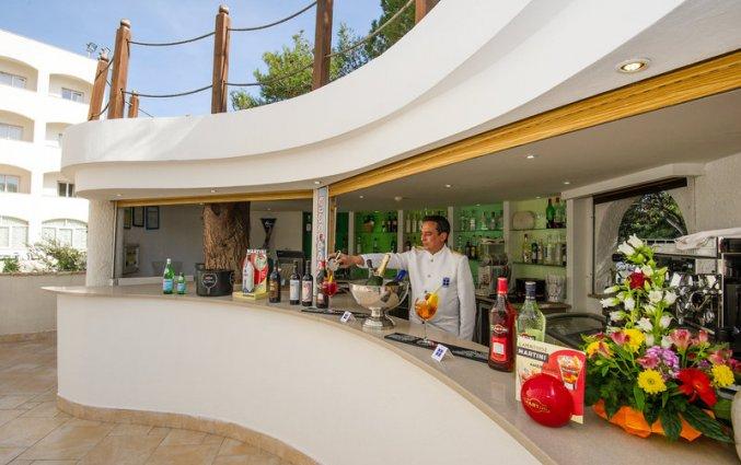 Bar van Ecoresort Le Sirene in Gallipoli