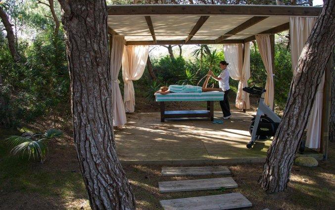 Buitenmassage van hotel Ecoresort Le Sirene Puglia
