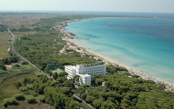 Buitenkant van hotel Ecoresort Le Sirene Puglia