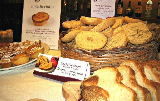 Ontbijtbuffet van Hotel Eos in Puglia