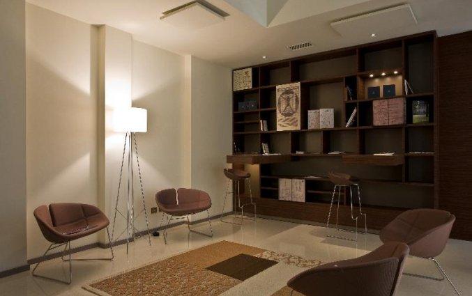 Lounge van Hotel Eos in Puglia