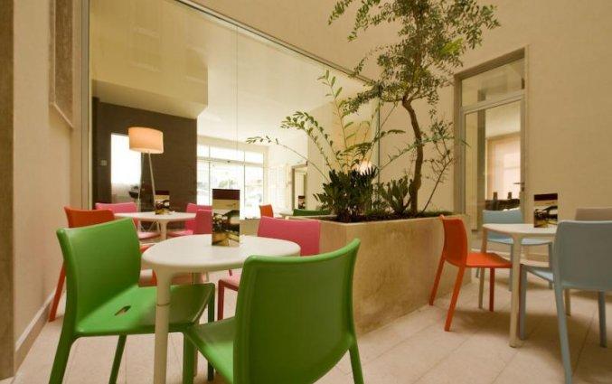 Terras van Hotel Eos in Puglia