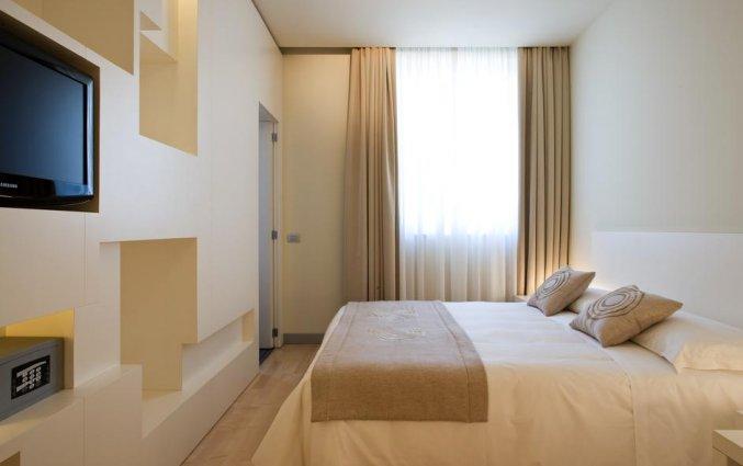 Tweepersoonskamer van Hotel Eos in Puglia