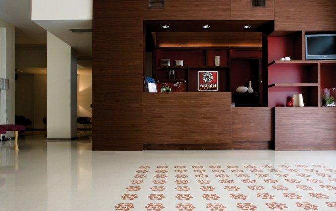 Receptie van Hotel Eos in Puglia