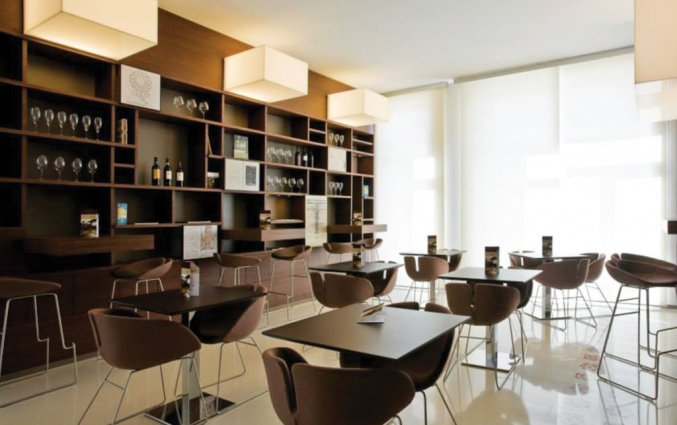 Wijnbar van Hotel Eos in Puglia