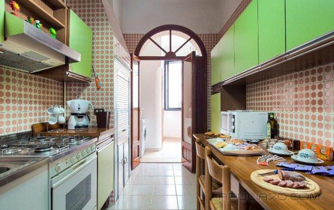 Keuken van Hotel Apulia 70 Holidays Puglia