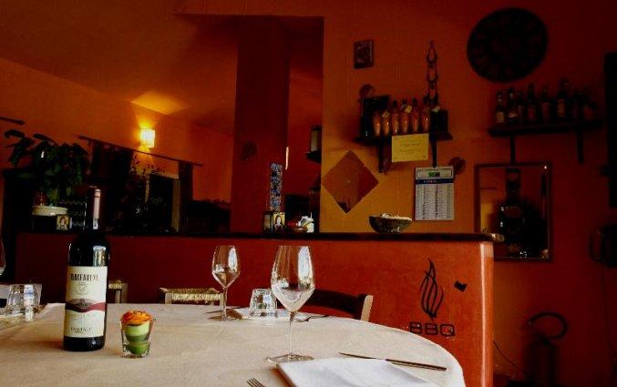 Bar van Residence Hotel Lu Nibareddu op Sardinie