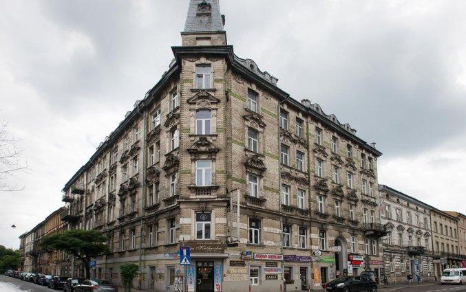 Vooraanzicht van appartementen Happy Tower Krakow in Krakau