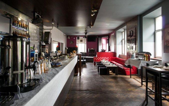 Lounge van appartementen Happy Tower Krakow in Krakau