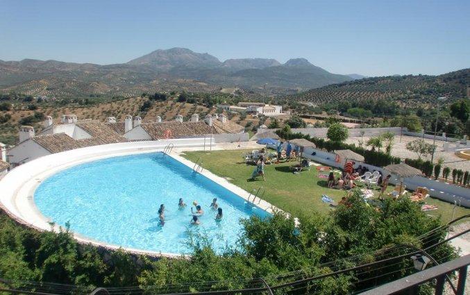 Zwembad Hotel Villa de Priego de Córdoba in Andalusie