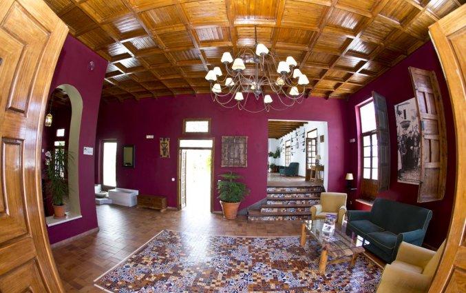 Lounge van Hotel Villa de Priego de Córdoba in Andalusie
