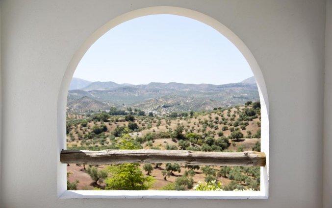Uitzicht van Hotel Villa de Priego de Córdoba in Andalusie