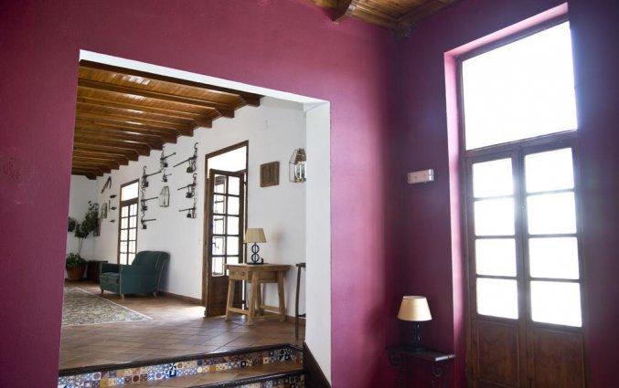 Receptie van Hotel Villa de Priego de Córdoba in Andalusie