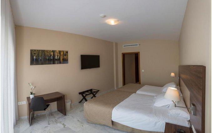 Tweepersoonskamer van Hotel Abetos del Maestre Escuela in Andalusie