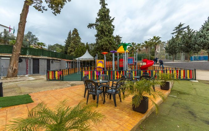 Speeltuin van Hotel Abetos del Maestre Escuela in Andalusie