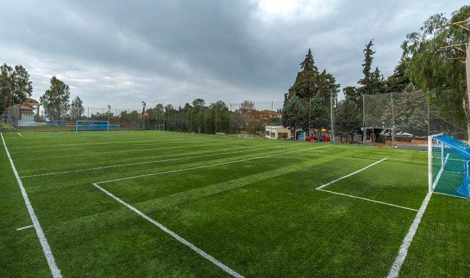 Tennisbaan van Hotel Abetos del Maestre Escuela in Andalusie