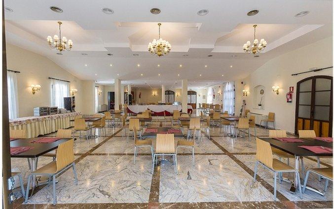 Restaurant van Hotel Abetos del Maestre Escuela in Andalusie